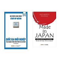 Combo Sách Kinh Doanh: Quốc Gia Khởi Nghiệp (Tái Bản 2018) + Made In Japan (Tái Bản 2018)