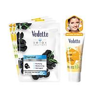 Bộ sản phẩm tươi mát làn da Vedette