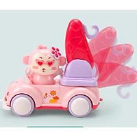 Đồ chơi ô tô đẩy đà xe công trình hình động vật ngộ nghĩnh Royalcare - ô tô trớn đà 822-55A