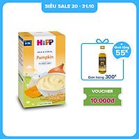 Bột ăn dặm dinh dưỡng Sữa, Ngũ cốc & rau củ - Bí đỏ HiPP Organic 250g
