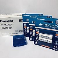 Bộ 3 vỉ (6 viên pin) pin sạc eneloop Panasonic AA 2000mAh BK-3MCCE/2B-V-Hàng chính hãng