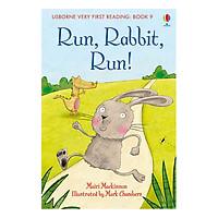 Usborne Very First Reading: 9. Run, Rabbit, Run!