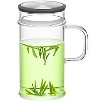 Ly lọc trà thủy tinh Samadoyo LC003A (380ml) - Xám