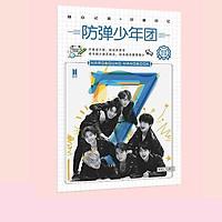 Vở A5 BTS MAP OF THE SOUL : 7 ON in hình nhóm nhạc tặng thẻ Vcone