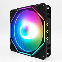Quạt tản nhiệt Coolmoon RGB V10 - Hàng nhập khẩu