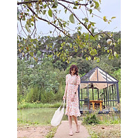 Đầm hoa phối ren Renee Dress Gem Clothing SP060286