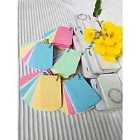 1000 thẻ flashcard màu thái mix 4 màu cao cấp