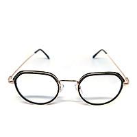 Mắt kính thời trang chống bụi gọng sắt tròn K008 unisex nam nữ
