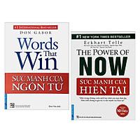 Combo 2 Cuốn Sách Tư Duy - Kỹ Năng Sống Hay : Sức Mạnh Của Ngôn Từ + Sức Mạnh Của Hiện Tại (Tặng kèm Bookmark Happy Life )
