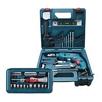 Bộ máy khoan động lực Bosch GSB 550 MP SET 19 chi tiết + Bộ vặn vít đa năng Bosch 46 món