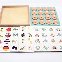 Đồ chơi gỗ game luyện trí nhớ và giải trí cho bé