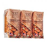 Lốc 3 Hộp Sữa hạt hạnh nhân 137 Degrees vị truyền thống (180ML)