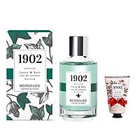 Nước Hoa Berdoues 1902 Lierre & Bois Eau De Toilette 100ml + Tặng Kèm 1 Sữa Tắm Berdoues 1902 Shower 50ml