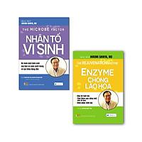 Sách - Combo 2 cuốn Nhân tố vi sinh + Enzyme chống lão hóa
