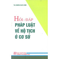 Sách Hỏi Đáp Pháp Luật Về Hộ Tịch Ở Cơ Sở