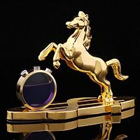 Tượng Ngựa Phong Thủy Mã Đáo Thành Công Kèm Lọ Nước Hoa Êm Dịu
