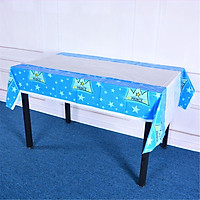 Disposable Rectangular Tablecloth For Birthday Party Decoration Outdoor Picnic