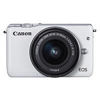 Máy Ảnh Canon EOS M10 Kit 15-45mm IS STM - Hàng Chính Hãng (Tặng Thẻ 16GB + Túi Máy + Tấm Dán LCD)