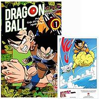 Dragon Ball Full Color - Phần Ba: Cuộc Đổ Bộ Của Người Saiya - Tập 1 - Tặng Kèm Standee PVC