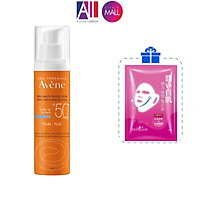 Kem chống nắng bảo vệ tối đa Avene protection fluid SPF50+ 50ml TẶNG mặt nạ Sexylook (Nhập khẩu)