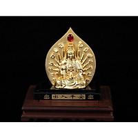 Tượng Phật Ngọc Quan Âm ngàn tay Trang Trí Xe Hơi và để phòng khách