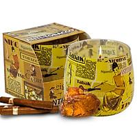 Ly nến thơm tinh dầu Bartek Anti Tobacco 100g QT024482 - hương hổ phách