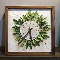 Đồng hồ treo tường canvas Artclock Soyn