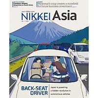 Nikkei Asian Review: Nikkei Asia - 2021: BACK-SEAT DRIVER - 9.21, tạp chí kinh tế nước ngoài, nhập khẩu từ Singapore