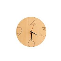 Đồng hồ treo tường mặt gỗ Acescor DHG04- Nội Thất Sang Trọng, Trang Trí Nhà Cửa, Quán Cà Phê, Homestay