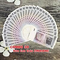 Combo 30 tờ lưu niệm hình con Trâu ở Zimbabwe, dùng để sưu tầm, làm quà lưu niệm, tiền lì xì mừng tuổi may mắn, ý nghĩa - SP005104