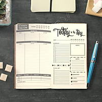 Sổ tay planner Kế hoạch tháng / ngày kết hợp quản lý tài chính cá nhân bởi Self Planner