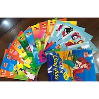 15 cuốn tô màu cho trẻ - Tô màu công chúa dễ thương - tô màu nhân vật hoạt hình - Tô màu siêu nhân - Tô chữ