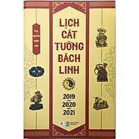 Lịch cát tường bách linh 2019-2020-2021 (Tặng kèm 1 bookmark như hình ngẫu nhiên)