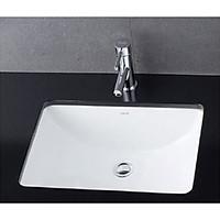 Chậu rửa lavabo âm bàn hình chữ nhật L5125
