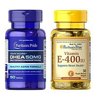 Combo thực phẩm chức năng vitamin E và DHEA tăng nội tiết tố
