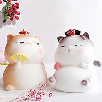 Bộ Mèo Hoàng Thượng Hoàng Hậu Mini