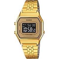 Đồng hồ nữ dây kim loại Casio LA680WGA-9BDF