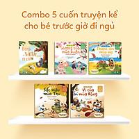 Combo 5 Cuốn Truyện Kể Cho Bé Trước Giờ Đi Ngủ (Rừng Xanh Rì Rào Bìa Cứng + 4 Cuốn Xuân - Hạ - Thu - Đông) - Sách Đọc To Cho Trẻ 0-1-2-3-4-5-6 Tuổi