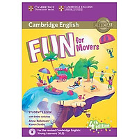 Fun for Movers SB w Online Activities w Audio, 4ed
