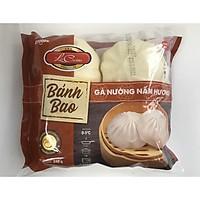 [Chỉ Giao HCM] Bánh Bao Gà Nướng Nấm Hương/ Gói 4 cái