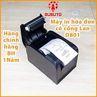 Máy in hóa đơn nhiệt in qua mạng LAN khổ 80mm hàng chính hãng GP-D801