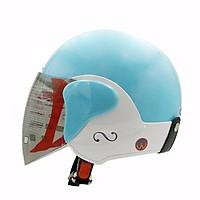 Mũ Bảo Hiểm 3/4 GRS A318K