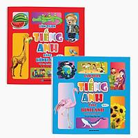 Full bộ: Làm quen Tiếng Anh bằng Hình ảnh - First 100 English Words (dành cho bé 4 - 6 tuổi)
