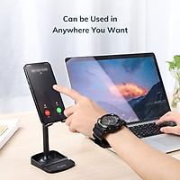 Giá đỡ điện thoại để bàn TOPK D23 Đế máy tính bảng có thể xoay được cho iPhone iPad HUAWEI Xiaomi OPPO Vivo - Hàng chính hãng