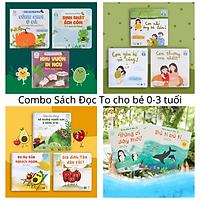 Combo 11 Cuốn SÁCH ĐỌC TO Cho Bé 0-3 tuổi - Truyện Tranh Cho Trẻ Em Tập Nói Phát triển Tư duy, Ngôn ngữ