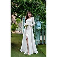 Đầm maxi dự tiệc mặc cưới TRIPBLE T DRESS-Size S/M/L(kèm ảnh/video thật)MS284V