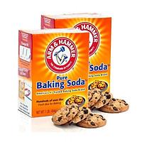 Bộ 2 hộp Bột Baking Soda Đa Công Dụng 454g - Arm & Hammer