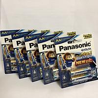 Set bộ 5 vỉ (10 viên) pin kiềm EVOLTA AA Panasonic, LR6EG/2Bx5-Hàng chính hãng