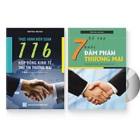 Combo 2 sách - Thực hành biên soạn 116 hợp đồng kinh tế và thư tín thương mại & Sổ tay 7 bước đàm phán thương mại + DVD quà tặng