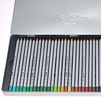 Chì màu nước Marco Raffine hộp thiếc 48 màu